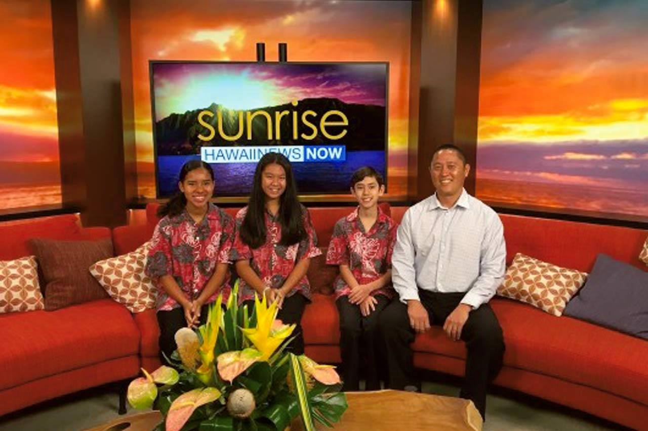 Niu Valley Middle Band Students on Hawaii News Now