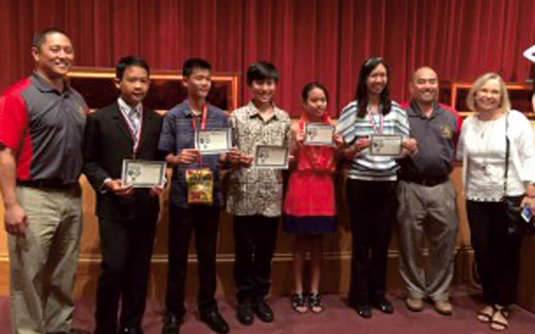 Congratulations to 2017 State Science Fair Participants