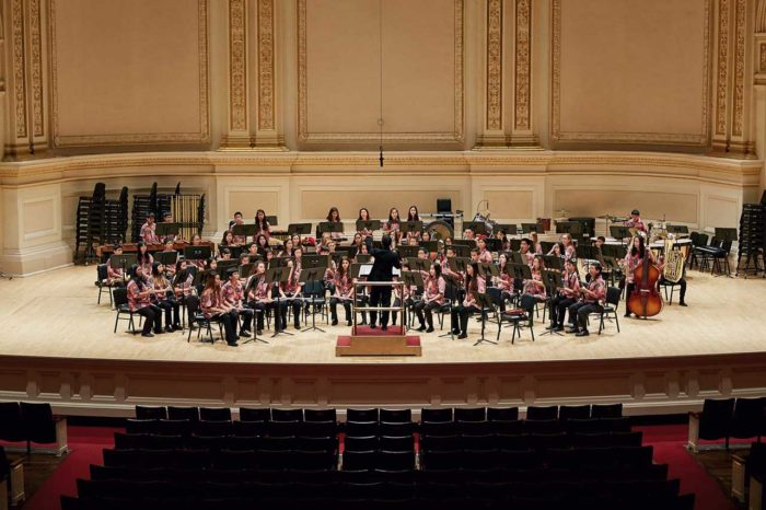 Band Onstage at Carnegie Hall