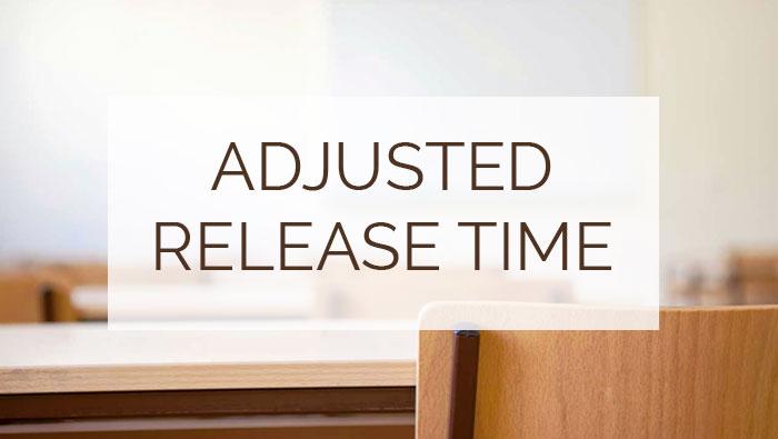 Adjusted Release Time wording