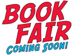 Scholastic Book Fair: Monday, November 4 – Friday, November 8
