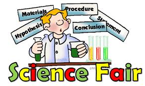 Congratulations to the NVMS District Science Fair Representatives