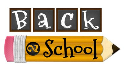 Time to Get Back to School!
