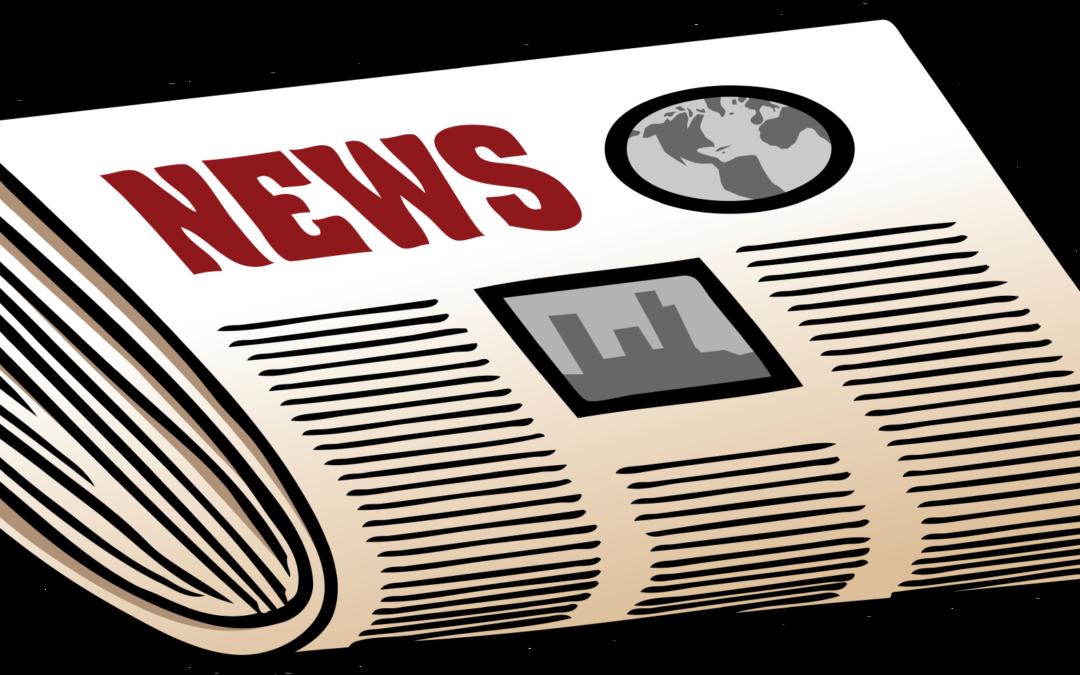 clip art news paper