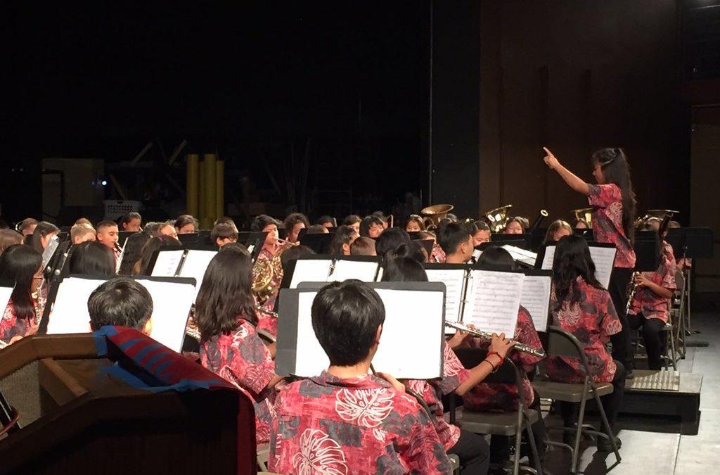 Music Department Aloha Concert