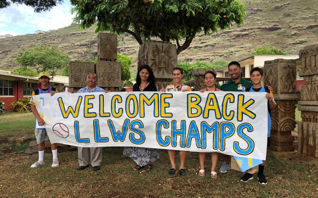 Welcome Back to School – Little League World Series Champions!