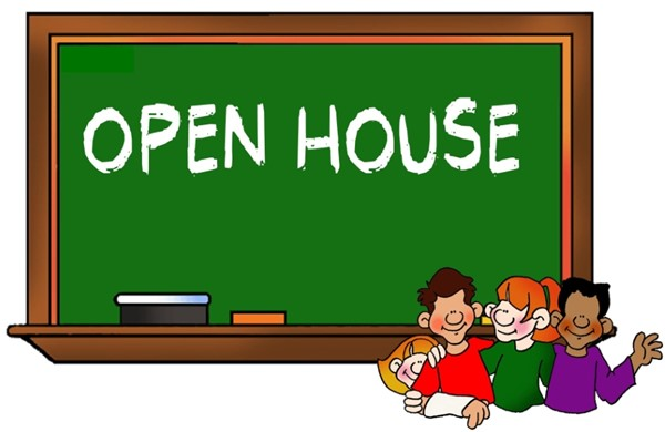 Open House RESCHEDULED!