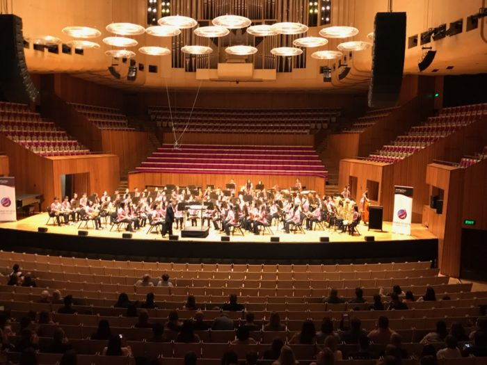 NVMS Concert Band at the Sydney Opera House