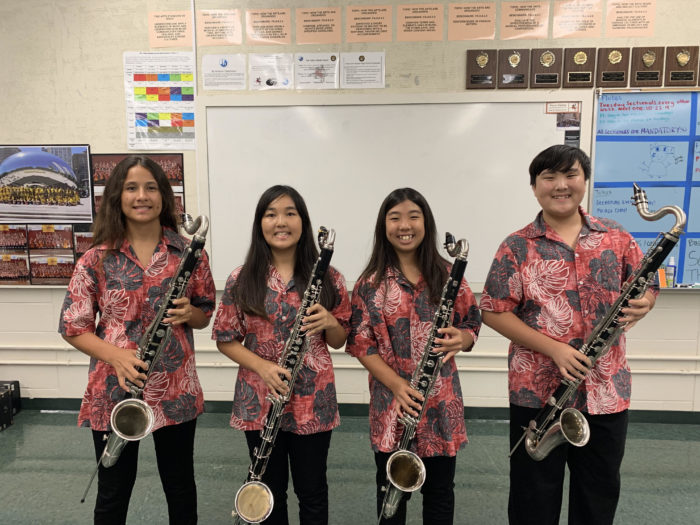Bass Clarinet Section 2019-2020