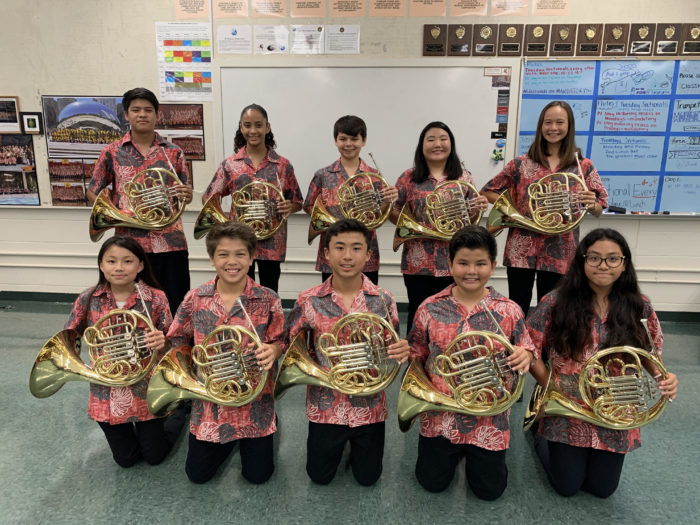French Horn Section 2019-2020