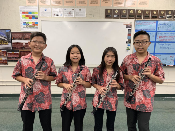 Oboe Section 2019-2020