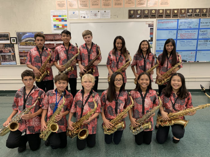 Saxophone Section 2019-2020
