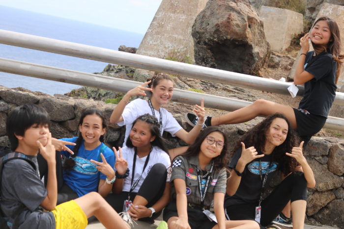 Team F Bonding Day at Makapuu Lighthouse Hike 2019-20