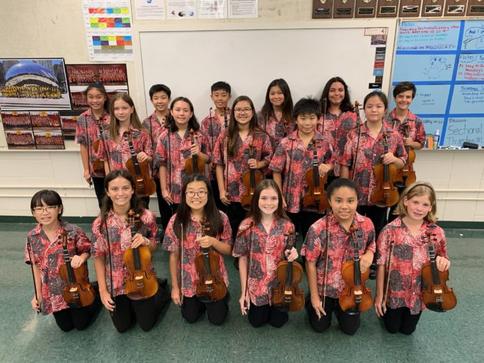 Violin Section 2019-2020