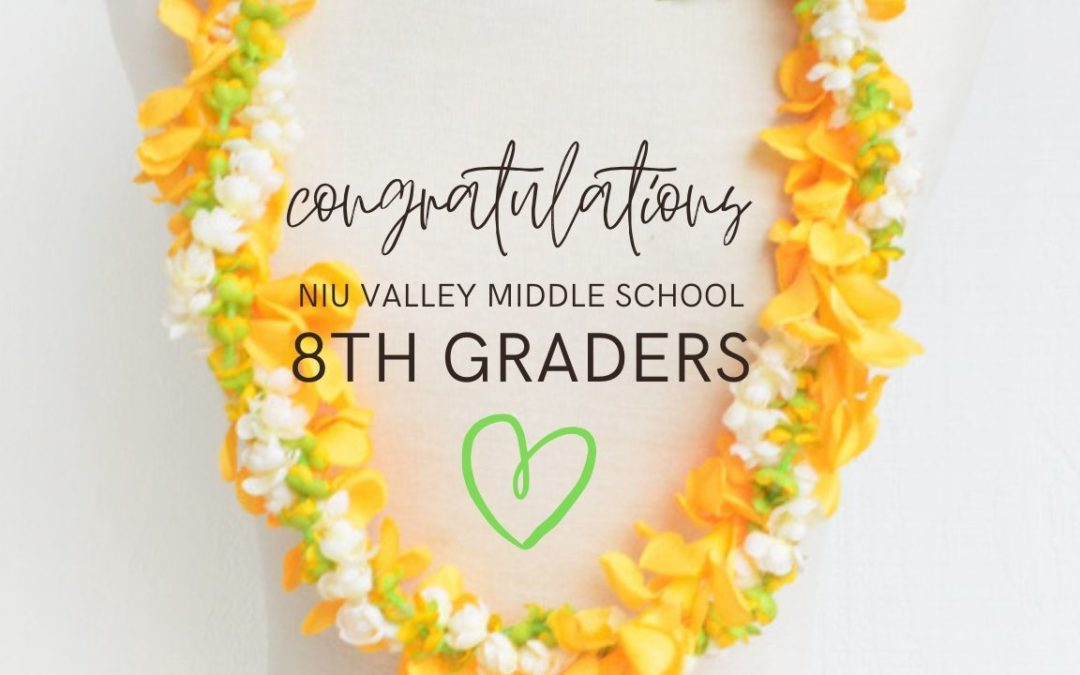 Congratulations, 8th Graders