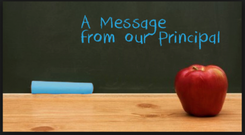 Message from Principal Ahn
